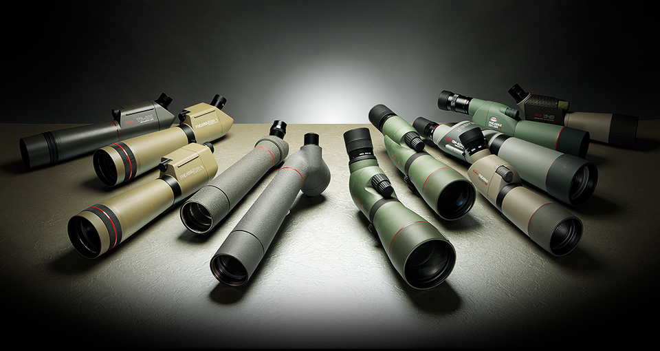 kowa Spotting Scope History 1952-2013